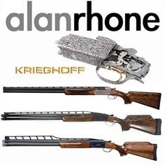 Established in 1989 and incorporated in 2000 with over 40 years experience in the gun trade Alan Rhone offer the highest standard of service available. Their knowledge of fine English competition shotguns and rifles is paramount. Alan Rhone confirm to exhibit at The 2016 British Shooting Show. Buy your tickets now! #AlanRhone #rifles #shotguns #krieghoff #BritishShootingShow #Buytickets #thingstodo