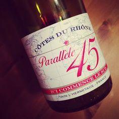 Paul Jaboulet Parallèle 45 2013 #dansmonverre