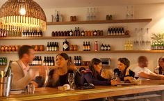 The Corner House, 281 Bondi Road, Bondi. freshen up with a Venetian Spritzer, Try chef Brent Mills' morsels, including the Marsala chicken liver pâté or the cheese plate for dessert.