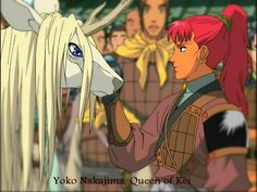 The Twelve Kingdoms Youko and Keiki