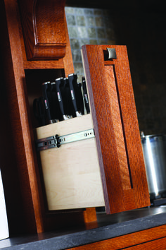 The Cabinet Center | Storage Solutions: Knife Storage