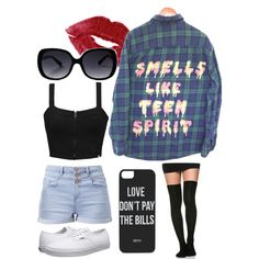 Summer day by emilylav1 on Polyvore featuring Element, Vans and Dimepiece