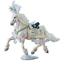 I love the Christmas horses ...by Breyer horses.  Noelle.  got it!!!!!