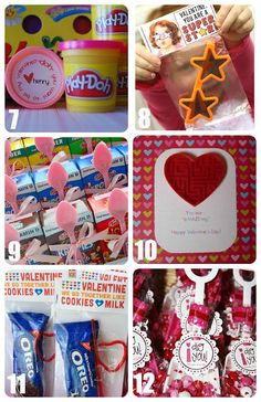 A Little Tipsy: 30 Valentines for Kids~T~ Links to some very cute ideas for kids Valentines. Great for parties.