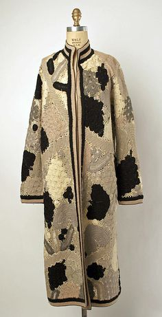 Coat - 1920's - Wool, silk - Label: Grande Maison de Blanc New York - The Metropolitan Museum of Art