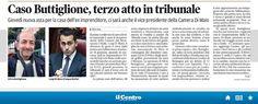 #4novembre2014 #terza asta #silvio buttiglione #luigi di maio #tribunale
