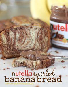 Nutella Banana Bread 222