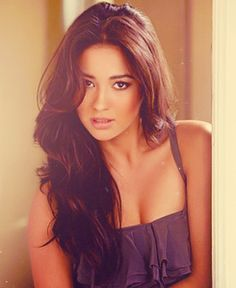 Shay Mitchell... I want her hair haha, it is literally perfect, all the time. I don't get it.