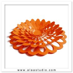 Large 3D pop out flower cutting file in SVG DXF PDF by AlaaStudio, $3.50