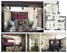 Квартира на Марксистской: интерьер, зd визуализация, квартира, дом, гостиная, ар-деко, 20 - 30 м2, интерьер #interiordesign #3dvisualization #apartment #house #livingroom #lounge #drawingroom #parlor #salon #keepingroom #sittingroom #receptionroom #parlour #artdeco #20_30m2 #interior arXip.com