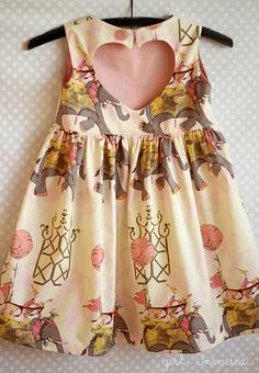 Girl. Inspired. {sewing, crafts, party inspiration}: Sweetheart Dress Pattern Review - If i have a niece!