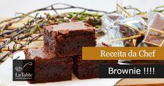 Receita da Chef – Brownie !!!!
