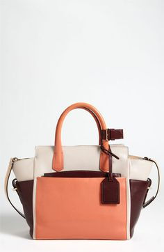 Reed Krakoff 'Atlantique - Mini' Colorblock Leather Satchel available at #Nordstrom