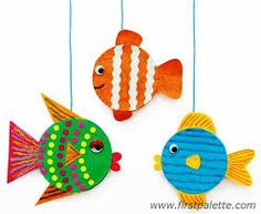 Risultati immagini per pesciolini creativi