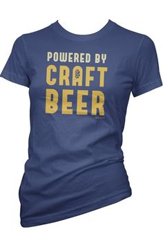 466b6248bb189 Powered By Craft Beer Ladies T-shirt