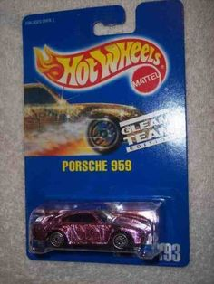 #193 Porsche 959 Dark Pink Collectible Collector Car Mattel Hot Wheels by Hot Wheels. $17.45. Perfect Hot Wheels Diecast for every collector!. Diecast Metal Hot Wheels Car Perfect For That Hot Wheels Collector!. Fun For All Ages! Serious Collectors And Kids Alike!. A Perfect Addition To Any Hot Wheels Collection!. Great Investment For Any Hot Wheels Collector.. #193 Porsche 959 Dark Pink Collectible Collector Car Mattel Hot Wheels