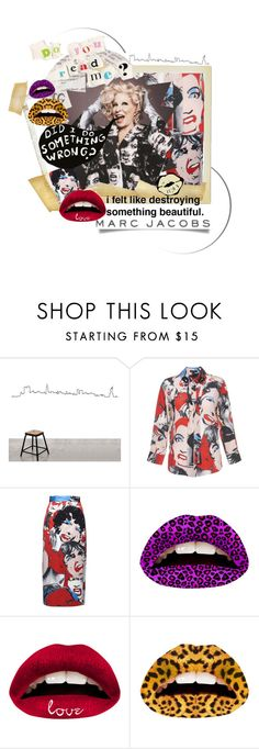 """""""@marcjacobs"""" by painthead ❤ liked on Polyvore featuring Marc Jacobs, Marc by Marc Jacobs, Violent Lips, women's clothing, women, female, woman, misses, juniors and marcjacobs"""