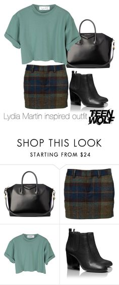 Lydia Martin inspired outfit/Teen Wolf by tvdsarahmichele on Polyvore featuring StyleNanda, Dsquared2, Tory Burch and Givenchy