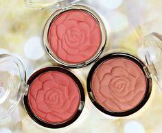Milani Rose rubor en polvo Muestras   Revisión // belleza en la floración - Blushing Noir