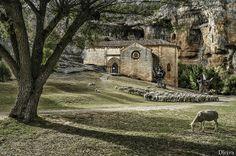 Ermita de San Bartolomé. Cañón del Río Lobos #Soria #naturaleza #cyl #CastillayLeon #Spain Fotografía de Domingo Leiva