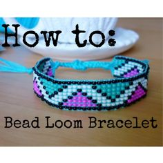 New on my YouTube channel, how to make a bead loom bracelet! http://YouTube.com/thecornerofcraft :)