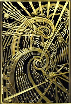 Art Deco. New York . Stunning. #gold #black