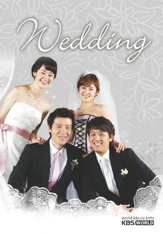 """""""Wedding"""" is a 2005 Korean romantic comedy starring Ryu Si Won and Jang Na Ra as young newlyweds  As they begin married life together, they encounter a variety of challenges and external expectations from their families of how they should be living their married life. To top things off, relationships from their past cause further tension.  Will the marriage last?  You'll have to watch it to find out!"""