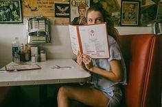 Imagem de girl, tumblr, and vintage
