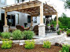 Minnesota bluestone patio