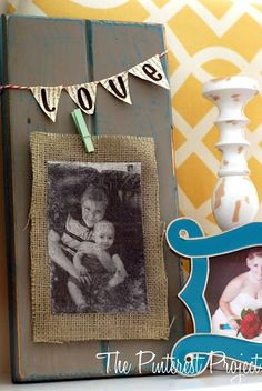 Photo Transfer onto Fabric with...MOD PODGE! Mel this is a how to for photo onto fabric! doesn't have to be burlap!