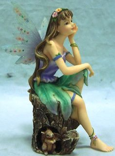 Want one of these for my garden. #Solityme of Faerie Glen-Fairy