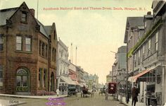 Thames Street, South, Newport, Rhode Island. 1913