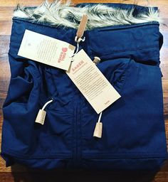 New Sarek jacket from @fjallravenofficial #fjallraven #winter #winteriscoming #instagood #love #beautiful #instasize #instastyle  #jacket #newjacket