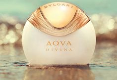 Aqua Divina Its floral-aquatic composition signed by perfumer Alberto Morillas opens with aromas reminiscent of the salty sea; there are accords of bergamot, salt crystals and red ginger. Magnolia and quince form the heart of the perfume, which is followed by the base of beeswax, precious woods and amber.