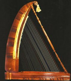 """The çeng belongs to the family of instruments known in organology as """"open harps,"""" which are further divided into the """"bow harps"""" and the """"square harps."""" The çeng is in the latter groups. #turkish #instrument"""