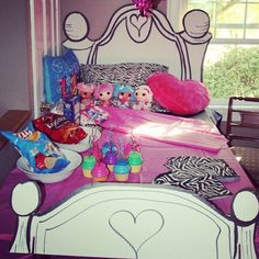 Decoration ideas for girls sleep over party