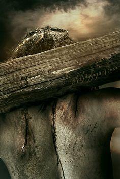 the pain of His sacrifice for mankind God and Jesus Christ Jesus Our Savior, Jesus Art, Jesus Is Lord, Catholic Art, Religious Art, Image Jesus, Crucifixion Of Jesus, Pictures Of Jesus Christ, Jesus Christus