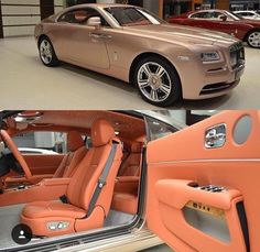 Rose Gold Rolls Royce