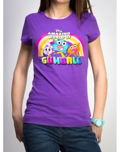 The Amazing World Of Gumball Junior Fitted Tee