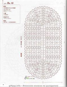 Вязание крючком. Японский журнал. Обсуждение на LiveInternet - Российский Сервис Онлайн-Дневников