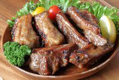 Ropogós sült oldalas Recept képpel - Mindmegette.hu - Receptek Penne, Hamburger, Sausage, Steak, Pork, Lunch, Cooking, Cake, Recipes
