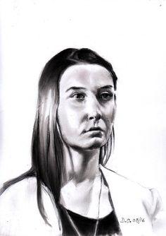 modèle vivant de Johann d'après une vidéo #33domy #pencil #portrait