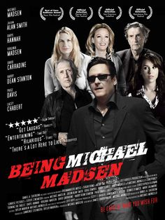 BEING MICHAEL MADSEN .. not sure why this film was made .. but i kinda liked it ...