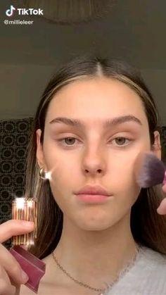 Cute Makeup, Glam Makeup, Pretty Makeup, Beauty Makeup, Hooded Eye Makeup Tutorial, Makeup Looks Tutorial, Natural Makeup Look Tutorial, Eyebrow Makeup, Skin Makeup