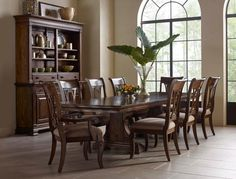 Portolone Formal Dining Room Group by Kincaid Furniture