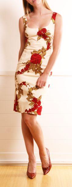 Dolce & Gabbana Dress women fashion outfit clothing style apparel @roressclothes closet ideas