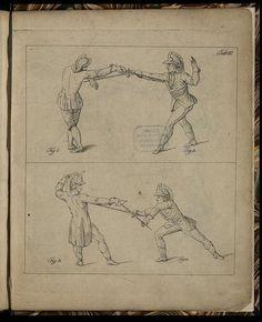 Gründliche und vollständige Anweisung in der deutschen Fecht-Kunst auf Stoss und Hieb (1798)