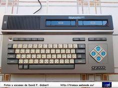 MSX National CF-1000, Fotos y propietario David F. Gisbert (Tromax) Usuario informatico de Amiga, MSX, coleccionista de microordenadores y videoconsolas