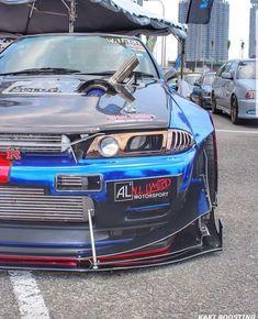 When Style Meets Performance: Exotic Cars 101 Skyline Gtr R34, Nissan Skyline, Tuner Cars, Jdm Cars, Nissan Gtr R32, R32 Gtr, Drifting Cars, Japanese Cars, Modified Cars