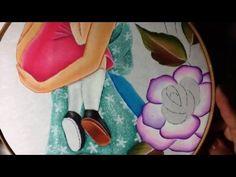 Pintura en tela mama # 5 con cony